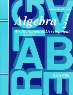 Saxon Algebra ½ Tests and Answer Key, 3rd Ed.