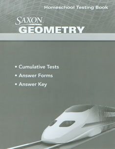 Saxon Geometry Homeschool Testing Book