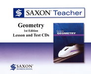 Saxon Geometry Teacher CD's, 1st Ed.