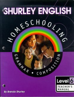 Shurley English Level 6 Homeschooling Kit