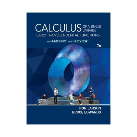 Calculus: Early Trans. Functions, 7th Ed.