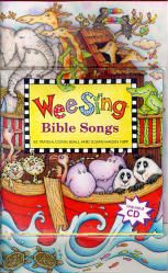 Wee Sing Bible Songs CD and Book