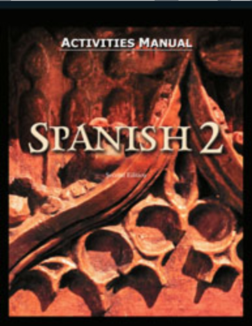 Spanish 2 Activity Manual (2nd Ed.)