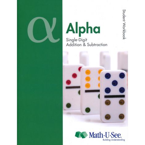 Math-U-See Alpha Student Pack | Veritas Press