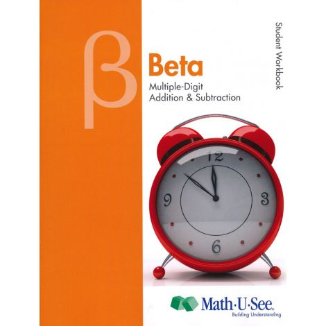 Math 1 - Math-U-See Beta Student Pack