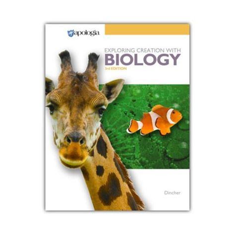 Exploring Creation with Biology Student Text 3rd Ed.