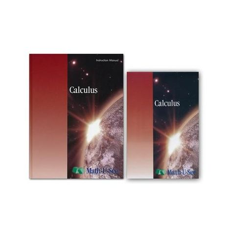Calculus - Math-U-See Course Kit