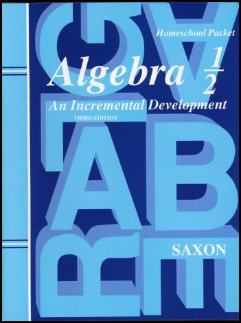Saxon Algebra 1/2 Home Study Kit