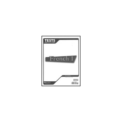 French 1 Tests 2nd Edition