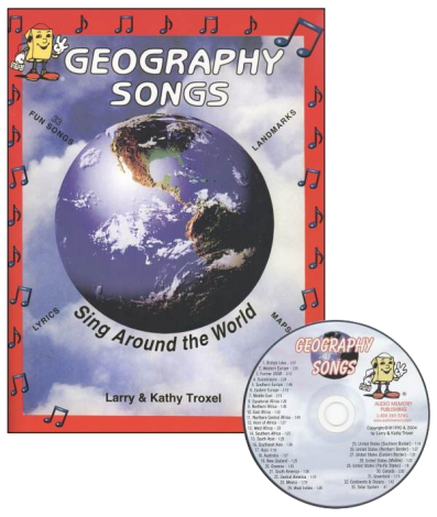 Geography Songs CD