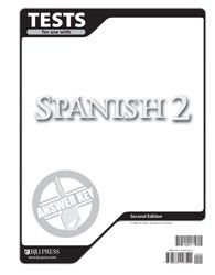 BJU Spanish II Answer Key | Veritas Press