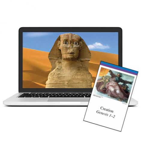Old Testament & Ancient Egypt - Self-Paced Course & Cards Combo